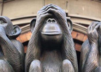 3 scimmie sagge significato